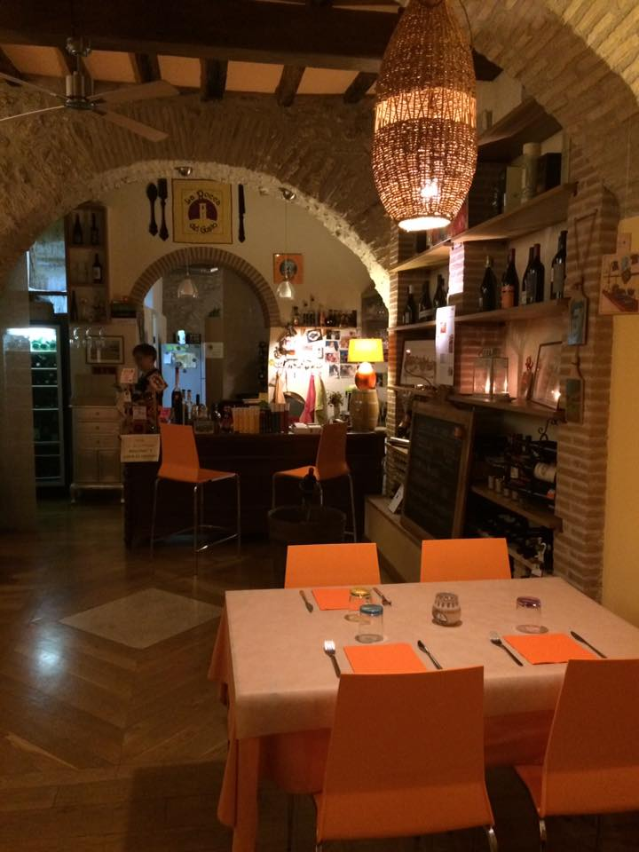 Rocca del Gusto, la sala