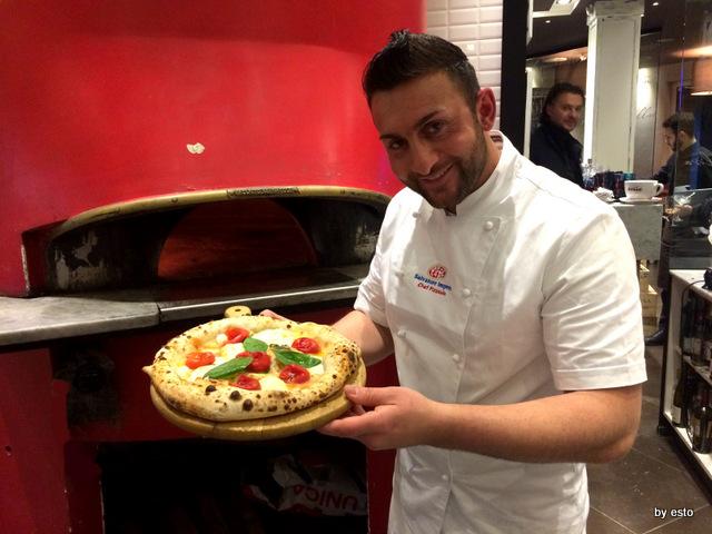 Salvatore Impero Pizzeria Eat to eat cardito pizza spaccanapoli