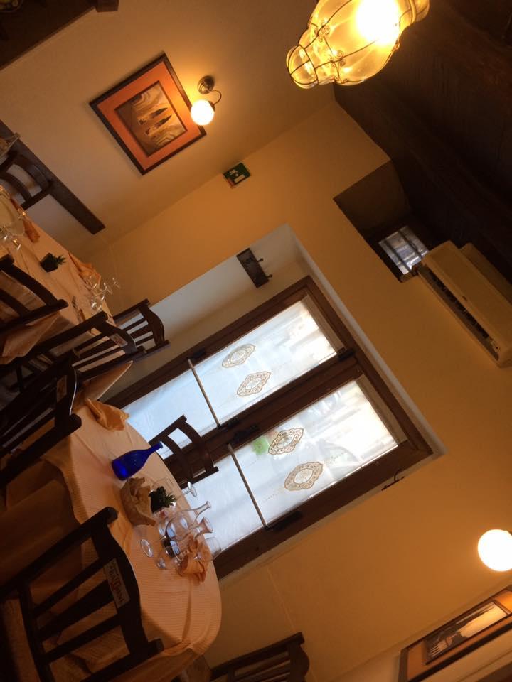 Taverna di Baffone, la sala