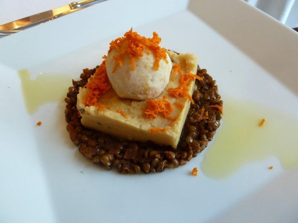 Trattoria Visconti, lenticchie al pomodoro