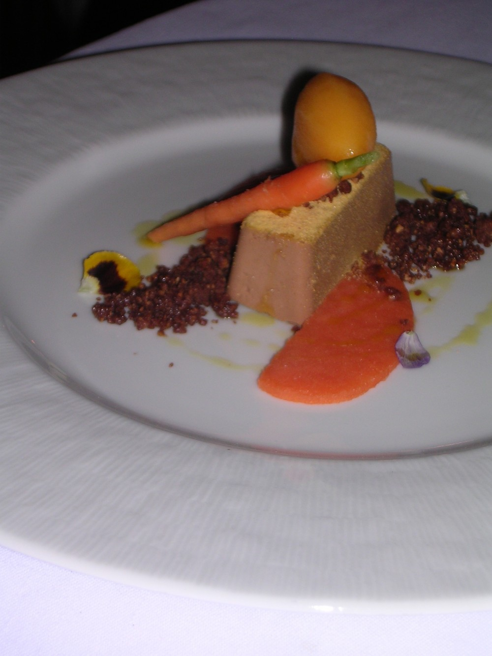 Uliassi, Mangiacarota, mandarino, gianduia, carota