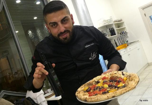 Valentino Libro Pizzeria Libro's Pizza La Nuova marinara Aversa