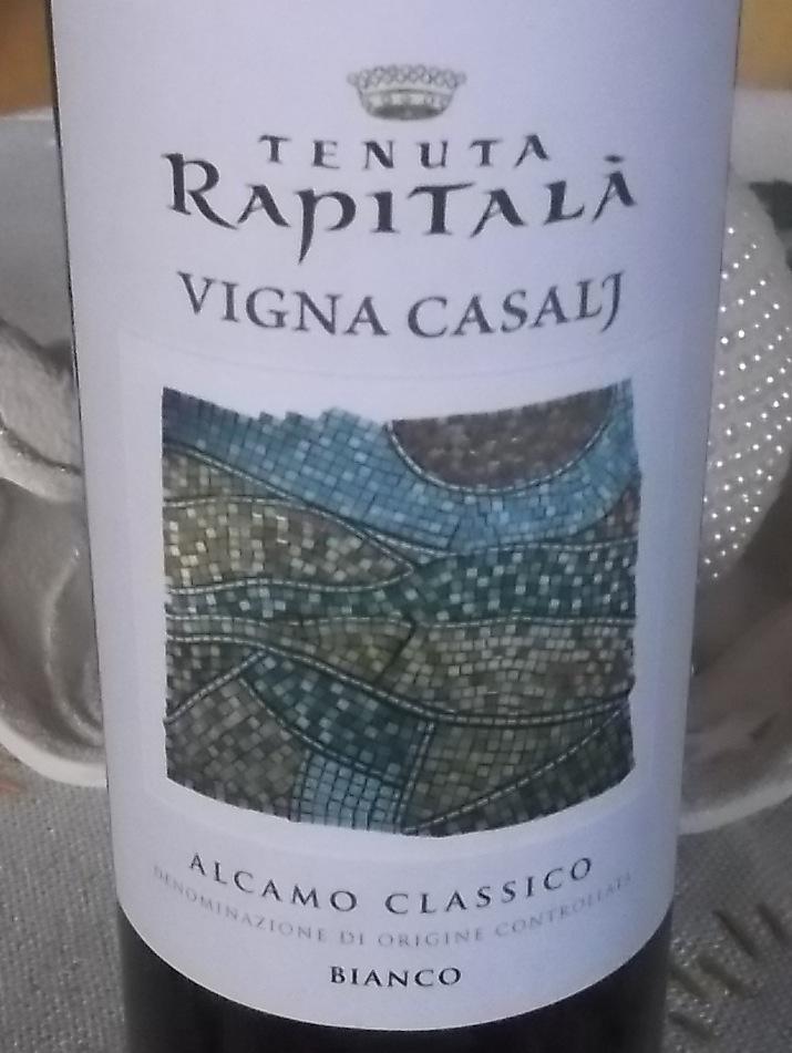 Vigna Casalj Alcamo Classico Doc 2015 Rapitala'