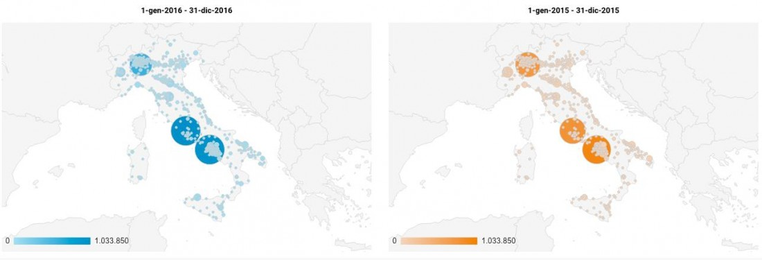 Wineblog. Geografia Italiana