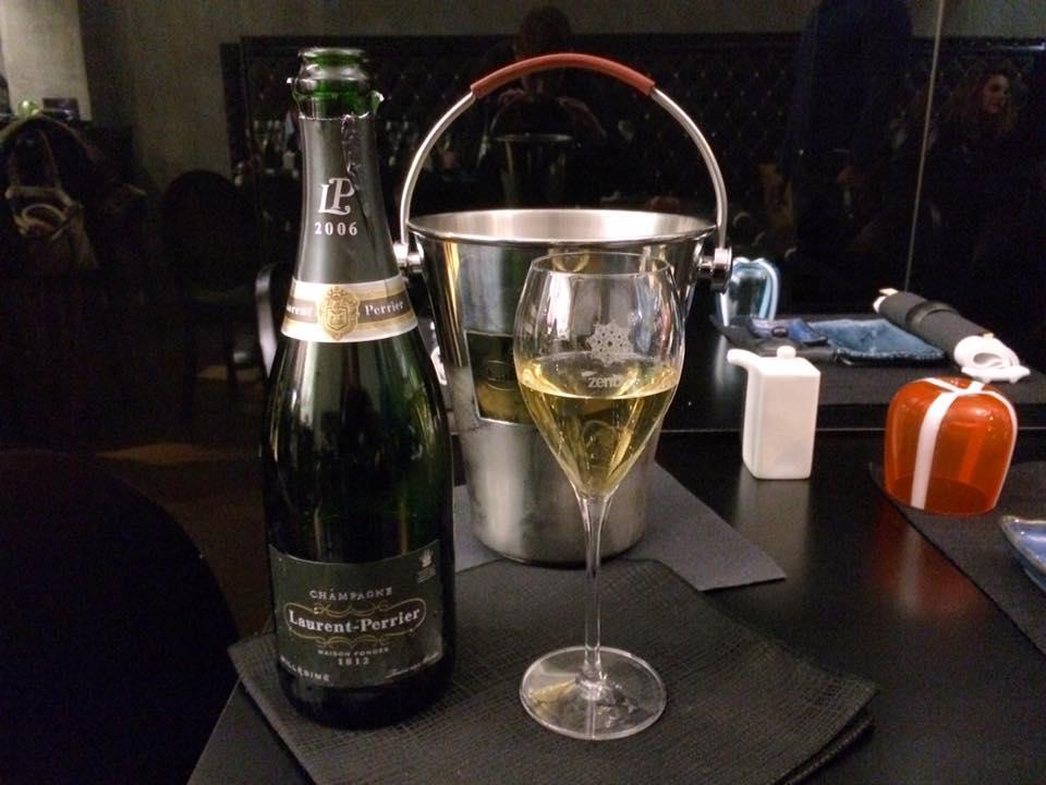 Zenbu. Champagne Laurent-Perrier Millesimato 2006