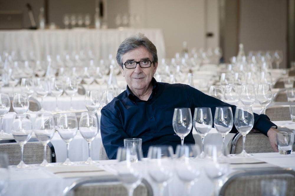 Rome, Italy - October 20, 2014Riccarto Cotarella present Bruno Vespa's wine.