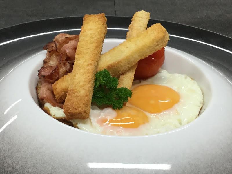 L'uovo fritto con lo chef Giuseppe Daddio