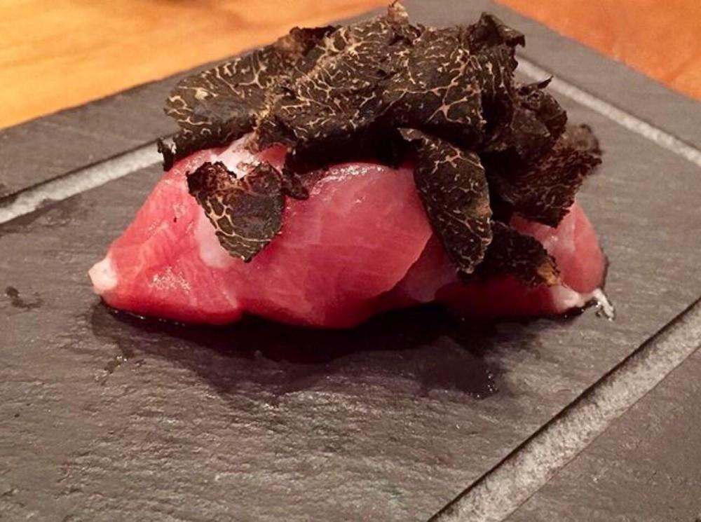 Umu, Otoro & Perigord Black Truffle Nigiri
