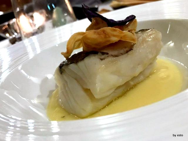 1Q84 Antonio  Andreozzi Baccala con patata profumata a limone