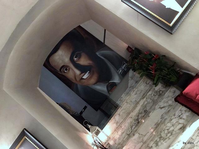 1Q84 Il ritratto di Sergio Bruni firmato Jorit
