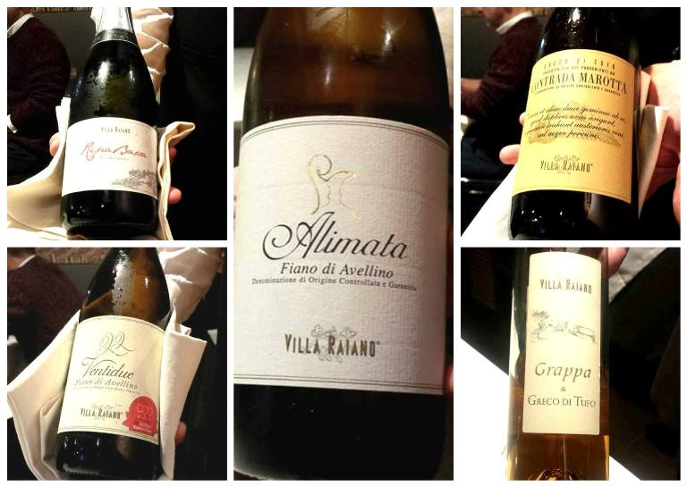 Mani in Cucina, i vini di Villa Raiano