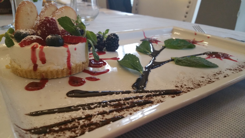 Gran Trattoria Amabile cheesecake