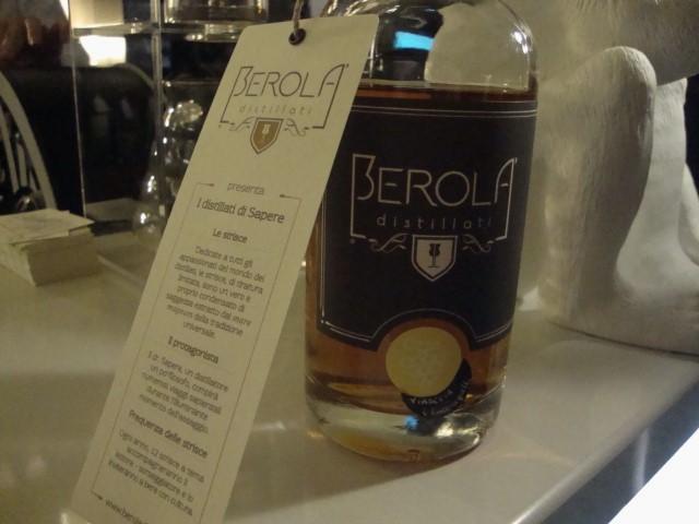 Berola' Distillati - grappa con le vinacce di Falanghina bio 'i Cacciagalli'