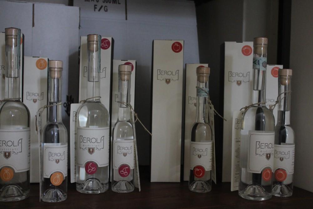 Berola' Distillati i prodotti in confezione