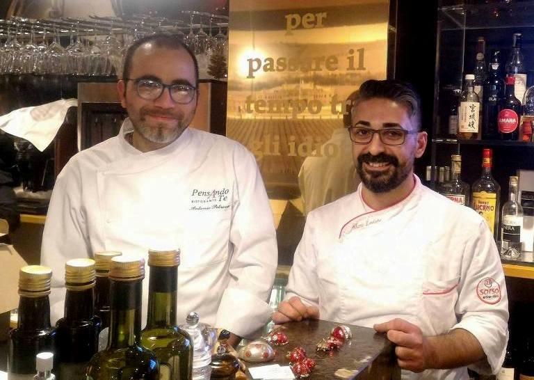 Antonio Petrone e Mario Lodato