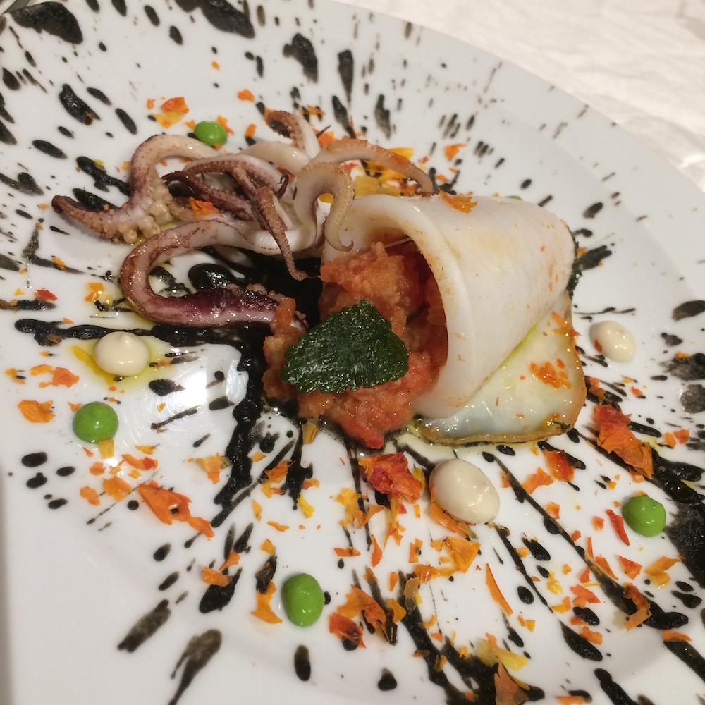 Bufi - Calamaro con pappa al pomodoro