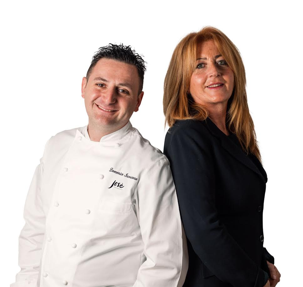 Chef Domenico Iavarone con Jose' Confuorto