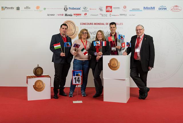 Concorso Mondiale di Bruxelles 2016 a Plovdiv giuria n.14