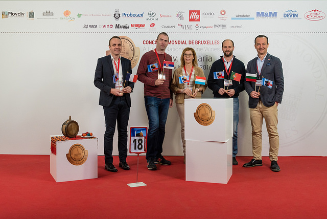 Concorso Mondiale di Bruxelles 2016 a Plovdiv giuria n.18