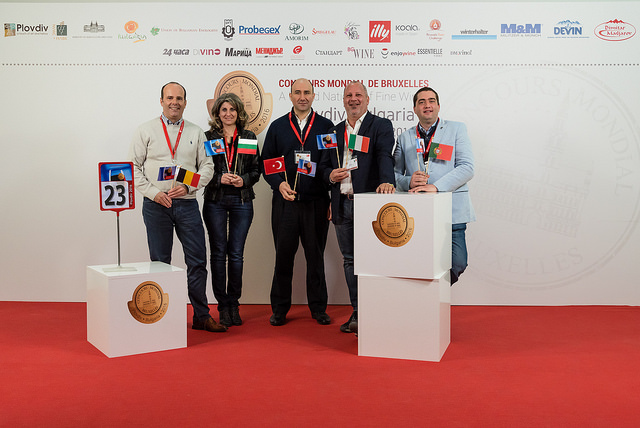 Concorso Mondiale di Bruxelles 2016 a Plovdiv giuria n.23