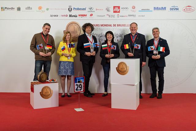Concorso Mondiale di Bruxelles 2016 a Plovdiv giuria n.29