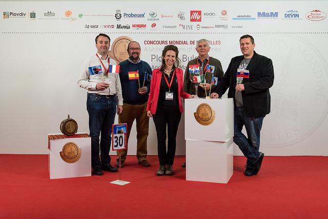 Concorso Mondiale di Bruxelles 2016 a Plovdiv giuria n.30