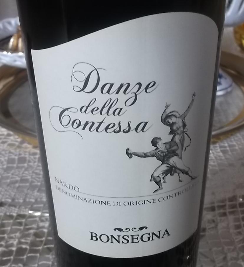 Danze della Contessa Nardo' Doc 2015 Bonsegna