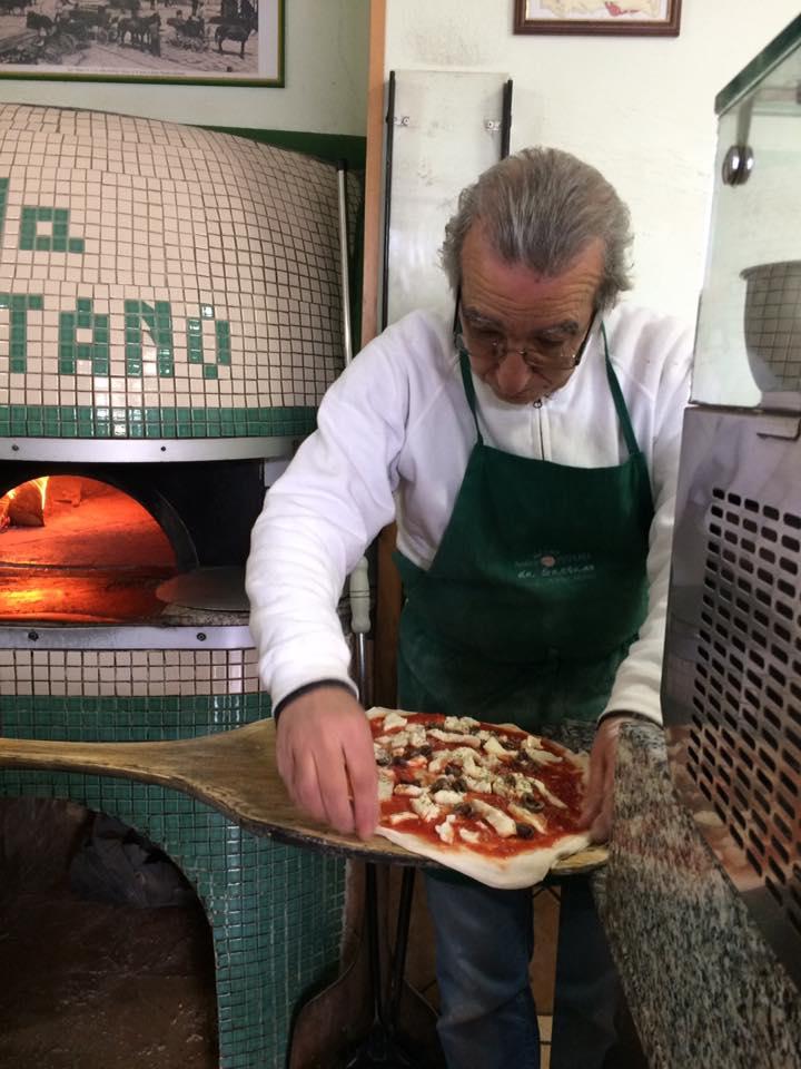 Domenico Giaccio al lavoro