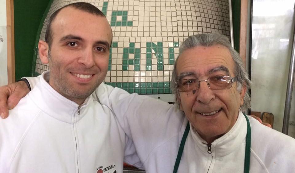 Domenico Giaccio con il figlio Gaetano