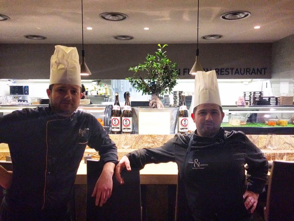 Roji, gli Chef Alex Pochynok e Francesco Franzese