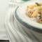 Fusilli integrali con asparagi e Gorgonzola