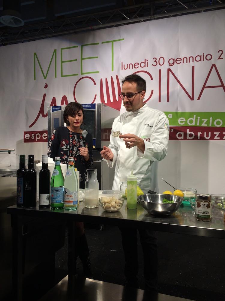 Gianni Dezio del Ristorante Tosto di Atri