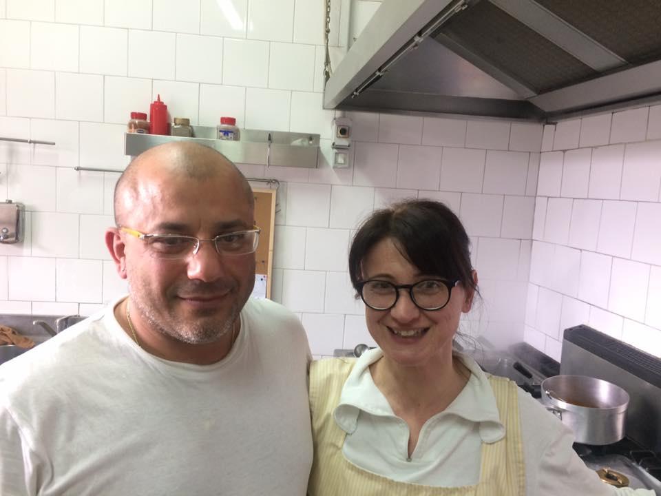 Giovanni Bilotti e la moglie