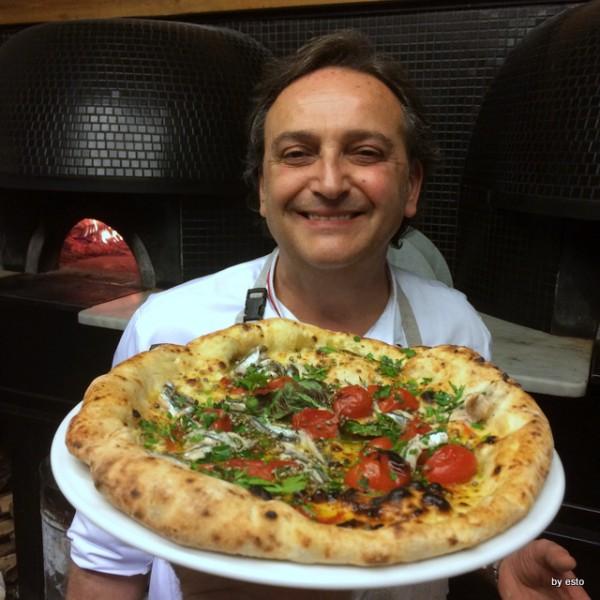 Guglielmo Vuolo e le pizze della salute