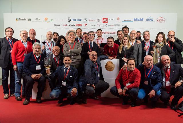 I giudici italiani nella edizione 2016 del Concorso Mondiale di Bruxelles a Plovdiv