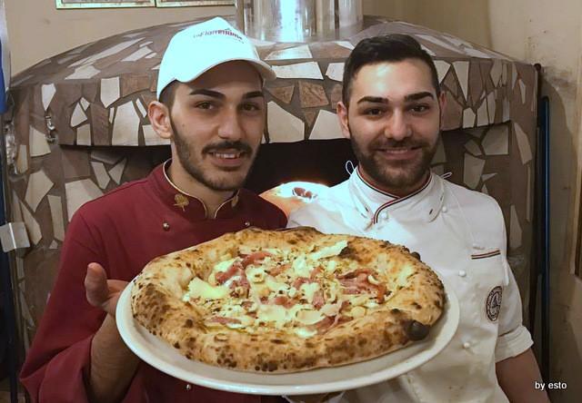 Jolly Gennaro e Angelo Catapanopizza Myriam