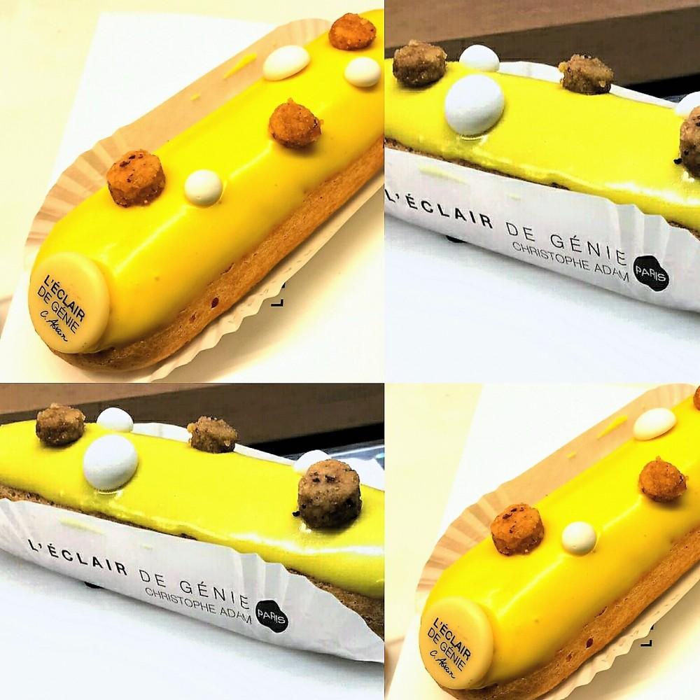 L'Eclair de Genie, Eclair limone e yuzu