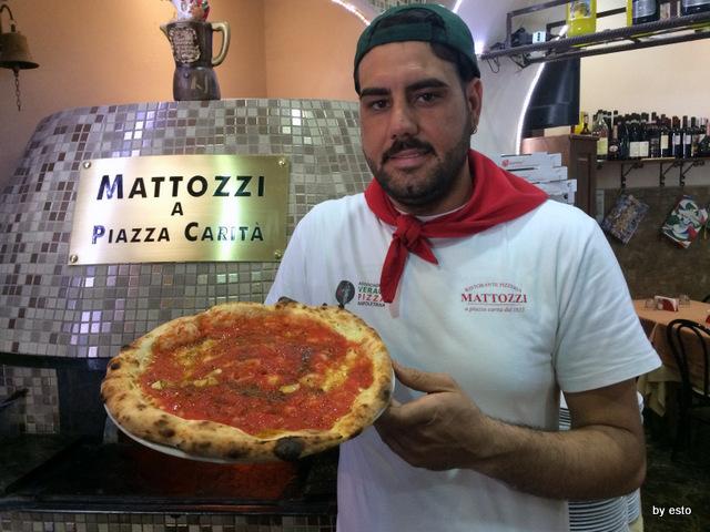Mattozzi pizza marinara