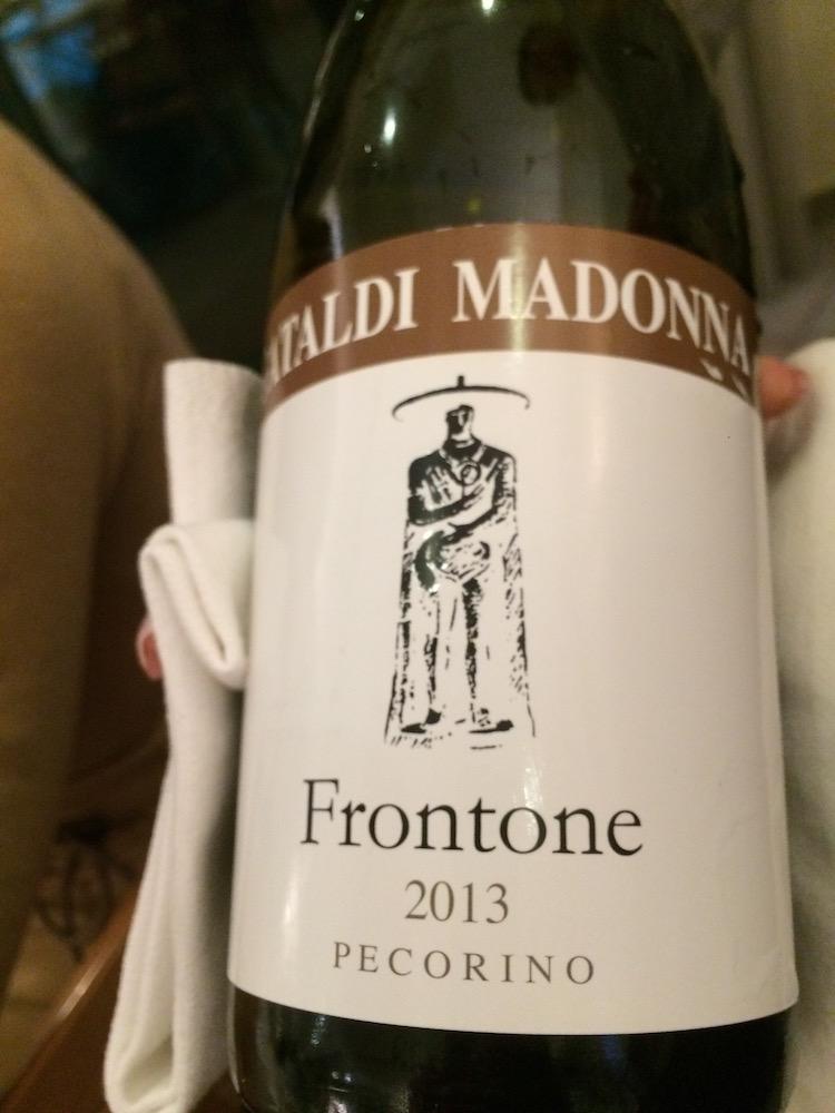 Pecorino il Frontone 2013 di Cataldi Madonna