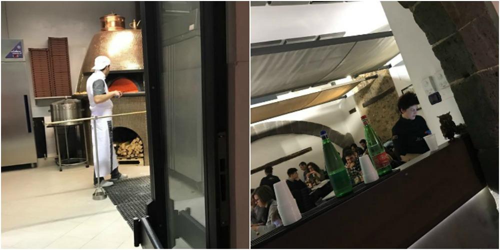 Pepe in Grani, forno e sala