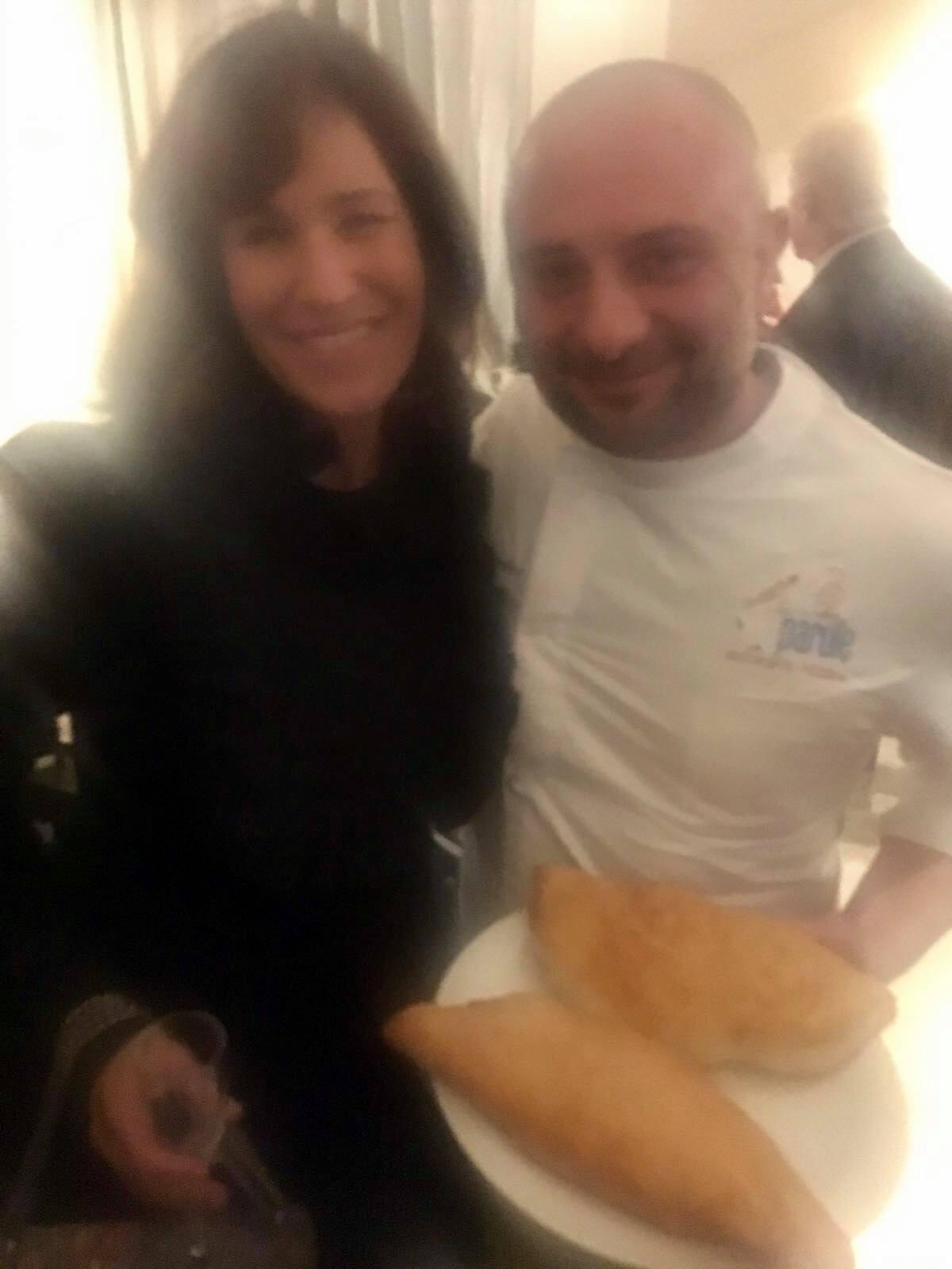 Giuseppe Pignalosa con Lara