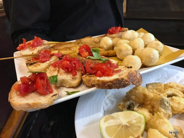 Pizzeria Bellini fritti e bruschette