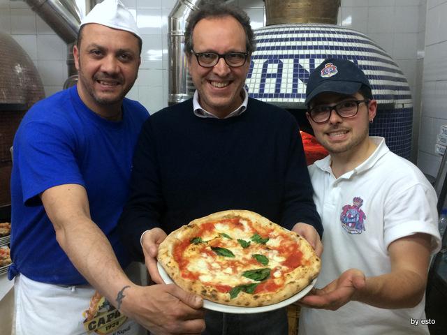 Pizzeria Brandi Paolo Pagnani pizza margherita