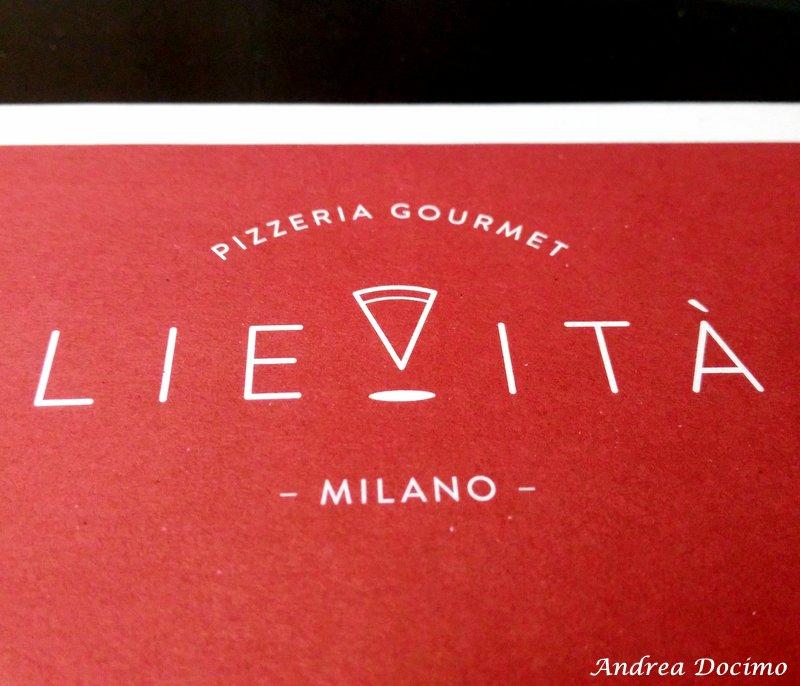 Pizzeria Lievita' a Milano. Il logo