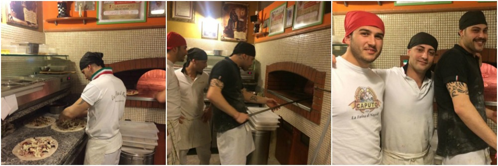 Pizzeria Mansi, la squadra al lavoro