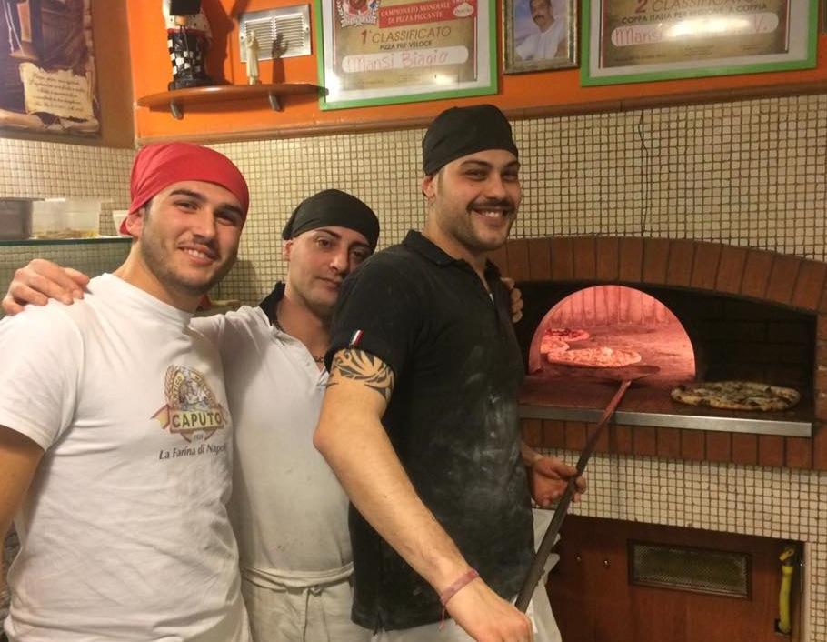 Pizzeria Mansi, la squadra