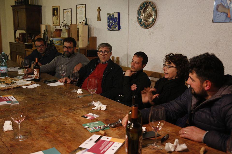 Prof. Giuseppe Celano con Marco Serra, Paola De Conciliis e Ciro Macellaro