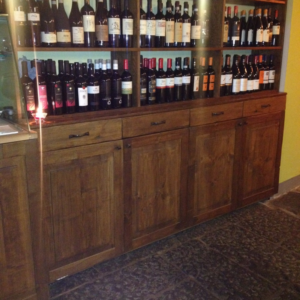 Ristorante Morese, bottiglie