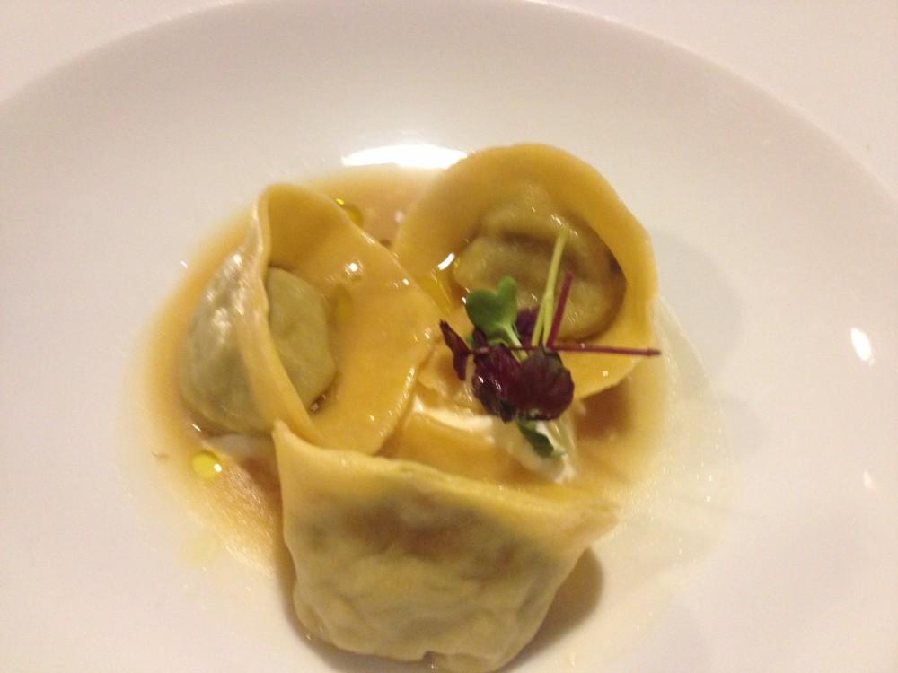 Ristorante Morese, tortello di minestra e salsiccione