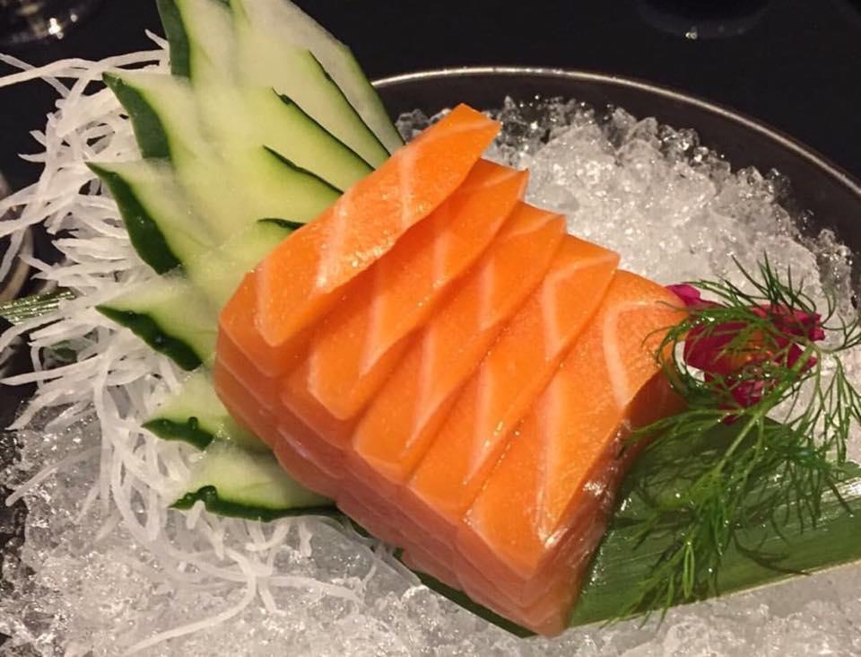 Shinto, Il Sashimi di Salmone